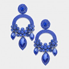 Large Chandelier Earrings   Many Colors to Choose From