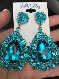 ORIGINAL CHUNKY EARRING WITH NO AB STONES