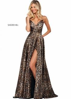 Sherri Hill Animal Print Dress 53772