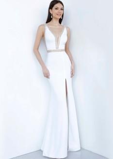 JVN by Jovani V-Neck Prom Dress JVN2271
