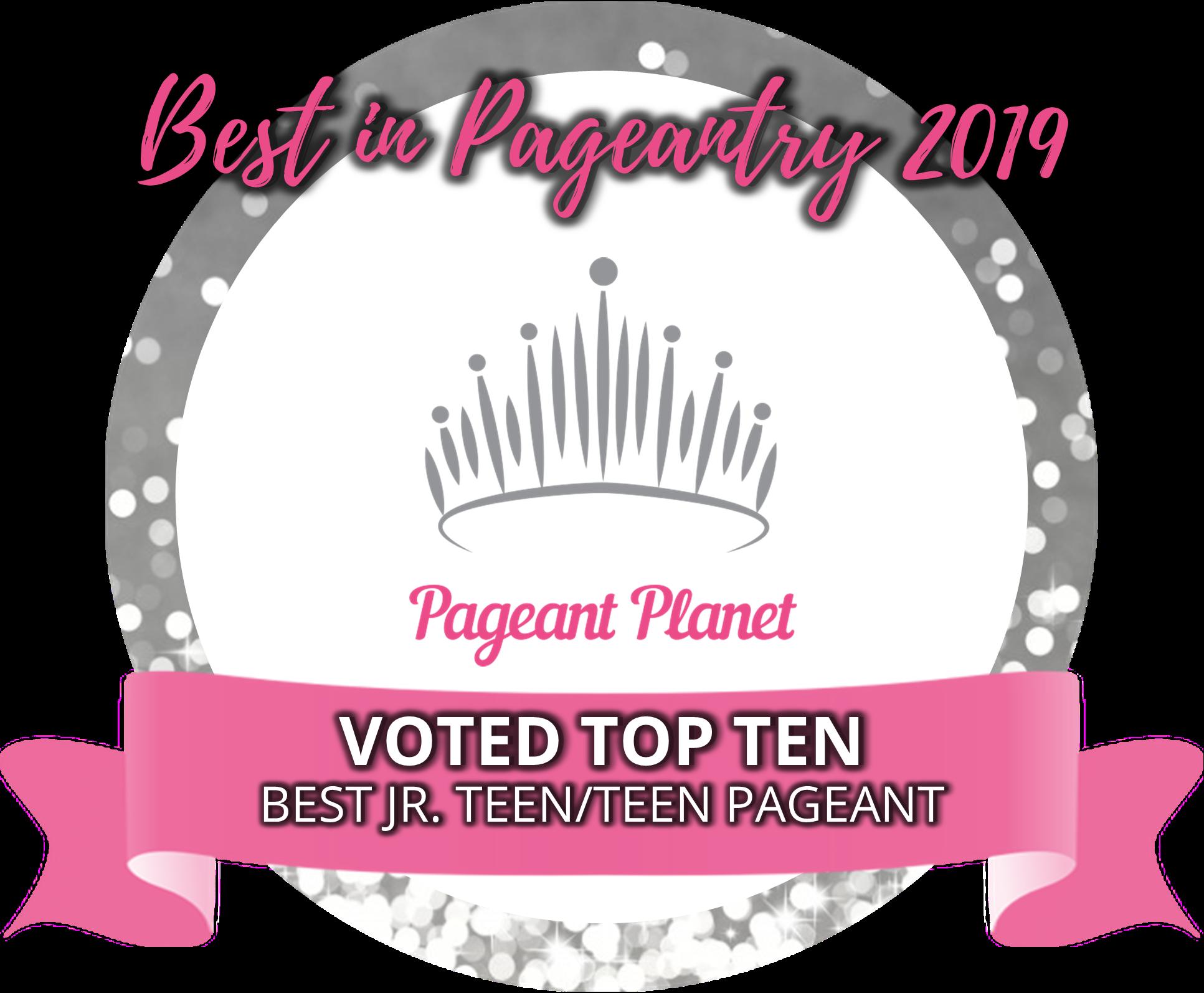 Top 10 Teen Pageants of 2019