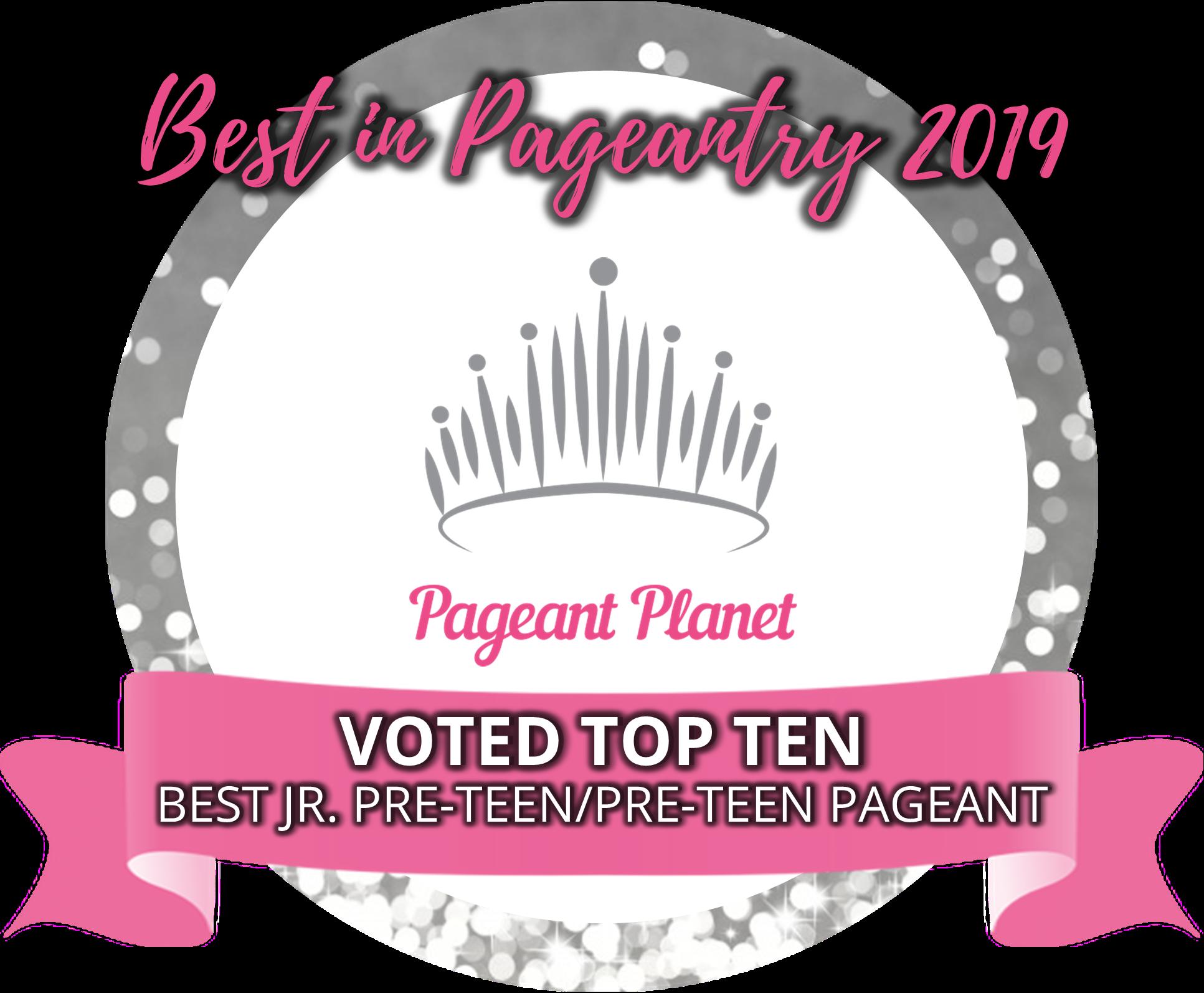 Top 10 Preteen Pageants of 2019