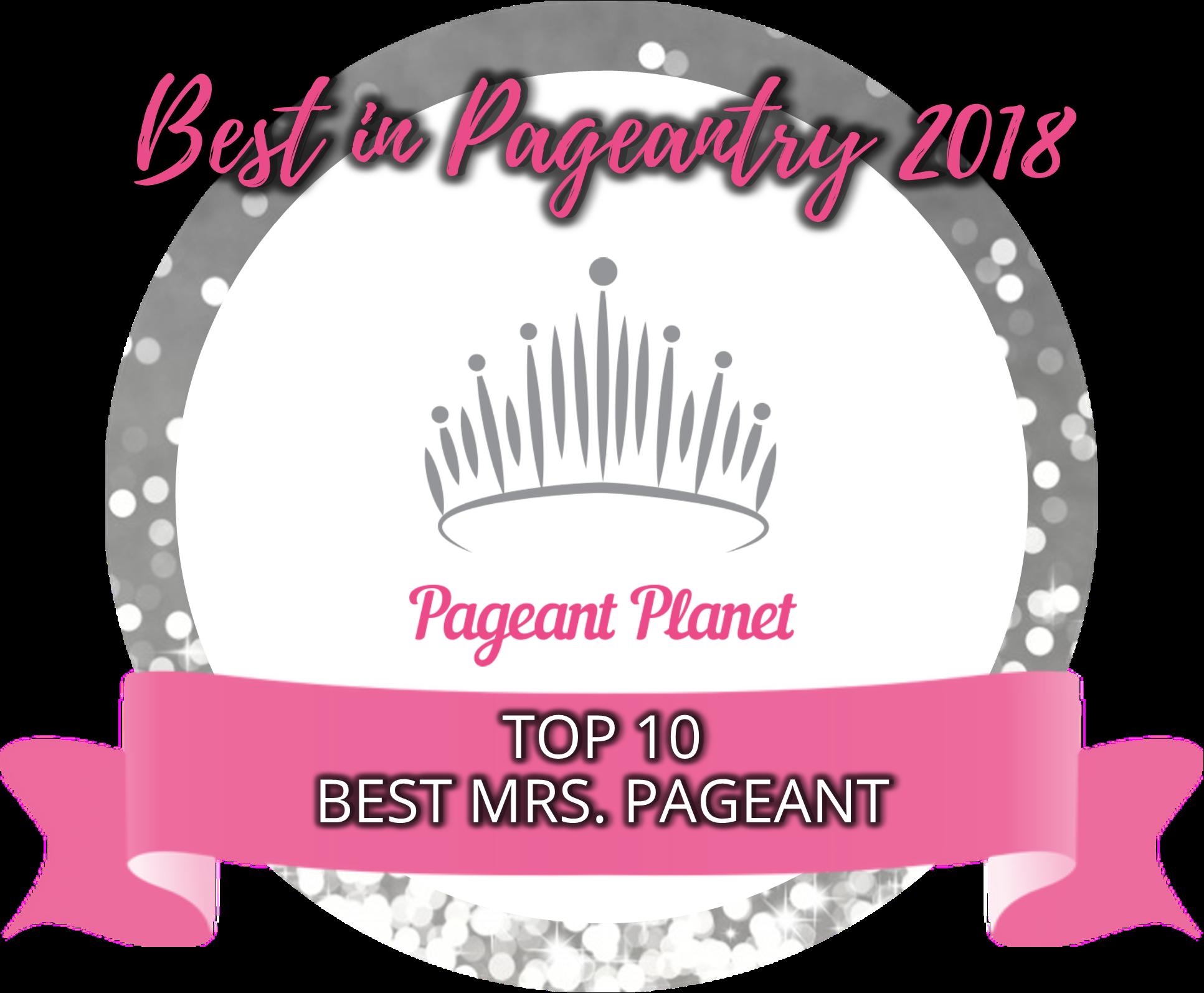 Top 10 Best Mrs. Pageants of 2018