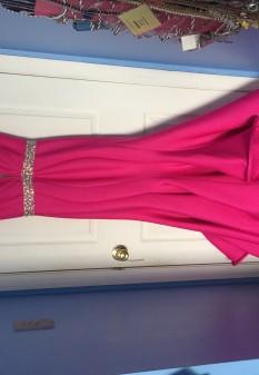 Pink Mac Duggal Gown