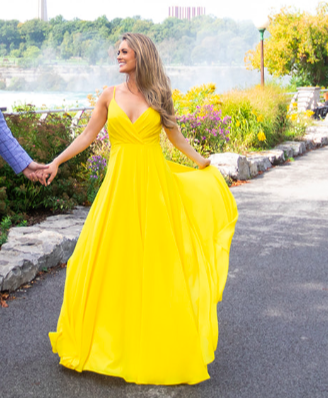 Yellow Lulus Gown