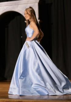 Baby Blue Ballgown Dress by Sherri Hill