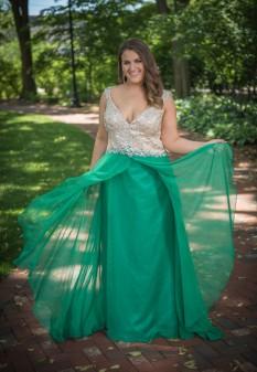 Green Fabulouss Gown by Mac Duggal