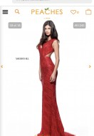 Red Sherri Hill Gown