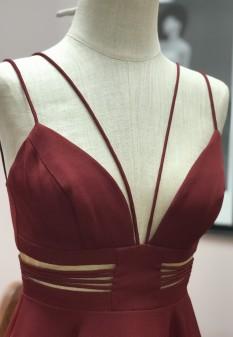 Maroon Short Dress from Sherri Hill