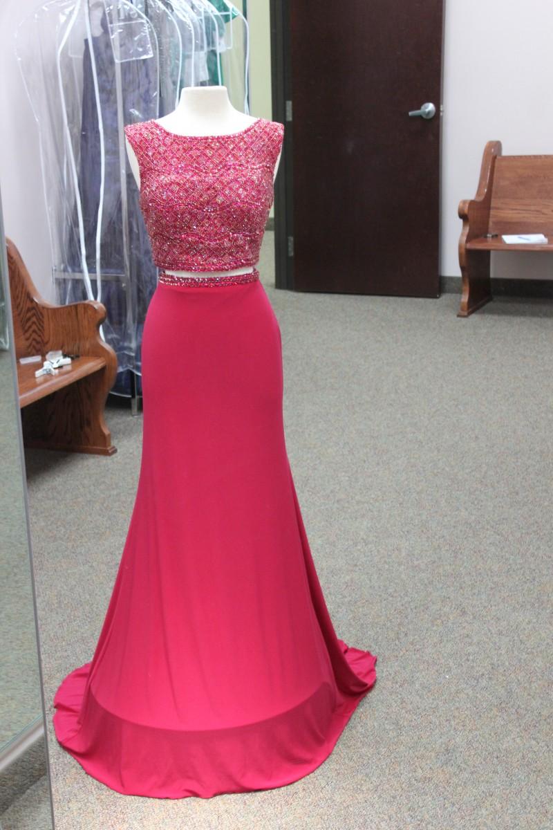 Ruby two piece long Sherri Hill dress