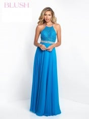 Blue dress from Blush