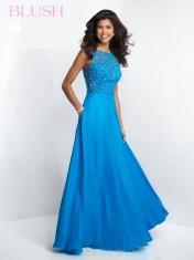 Blue long dress from Blush