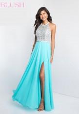 Light blue long dress from Blush