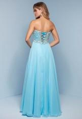 Sky blue dress from Splash