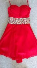 Red Jovani Cocktail Dress