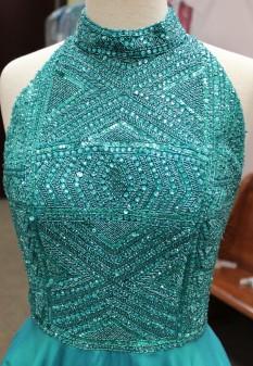 Blue dress from Sherri Hill