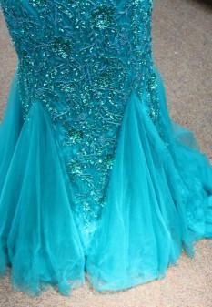 Blue mermaid dress from Sherri Hill