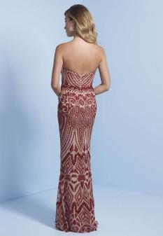Long red dress from Splash