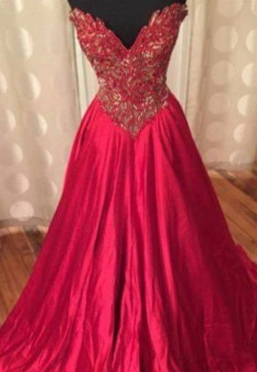 Sherri Hill Couture Red