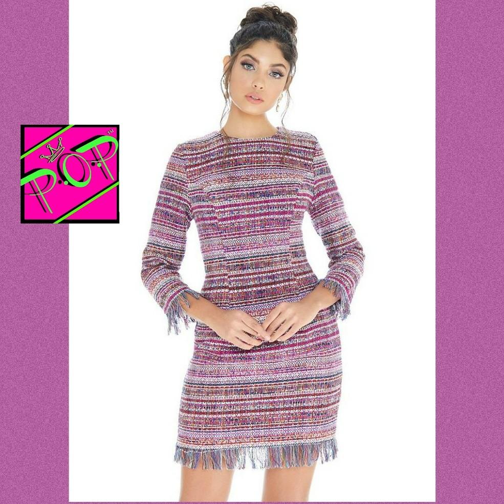 Nwt Ashley Lauren Tweed interview dresses size 2 6 8