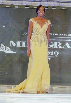 Dheymid Galaviz custom yellow gown