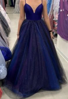 Purple/Blue Teen Dress