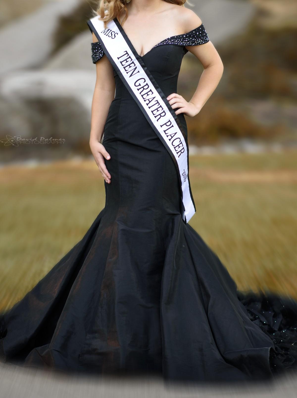 Custom Pageant Dress MacDuggal