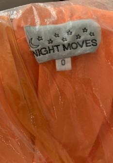 Orange Night Moves Pageant Dress