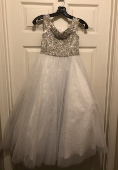 White Tiffany Designs Princess Dress