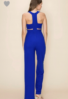 Jumpsuit with Cut Out Design