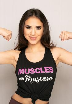 Muscles & Mascara Tank Top