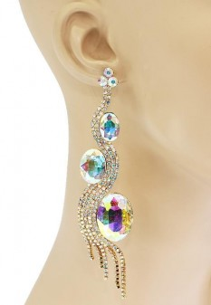 Jenna Pageant Earrings