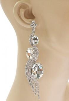 Jenna Pageant Earrings