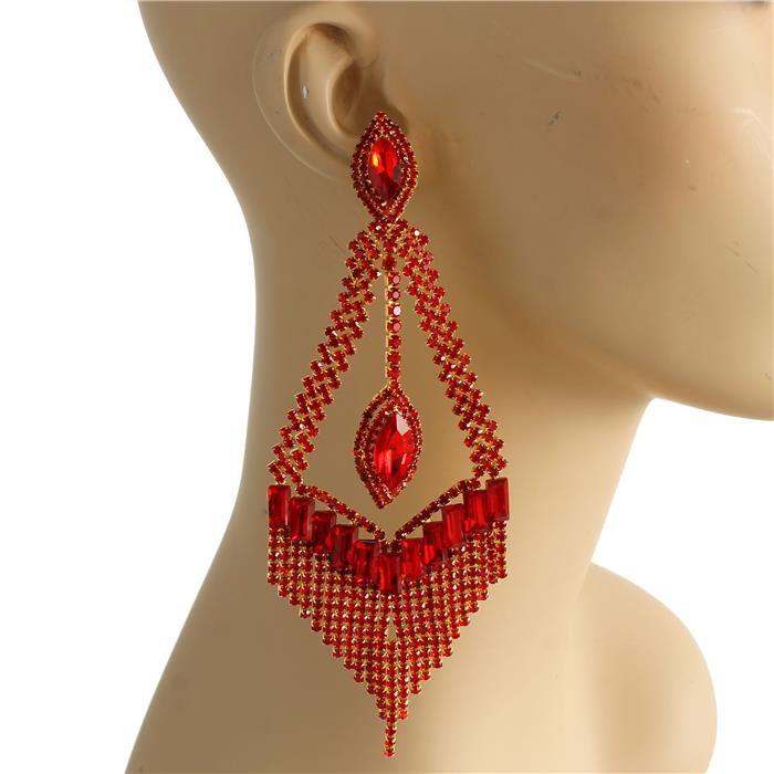 """5.5"""" Charity Pageant Earrings"""