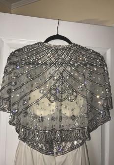 White Velvet Pageant Dress by Sherri Hill