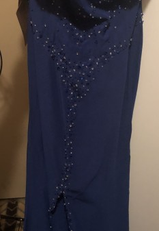 Custom Blue Pageant Dress by Light in the Box