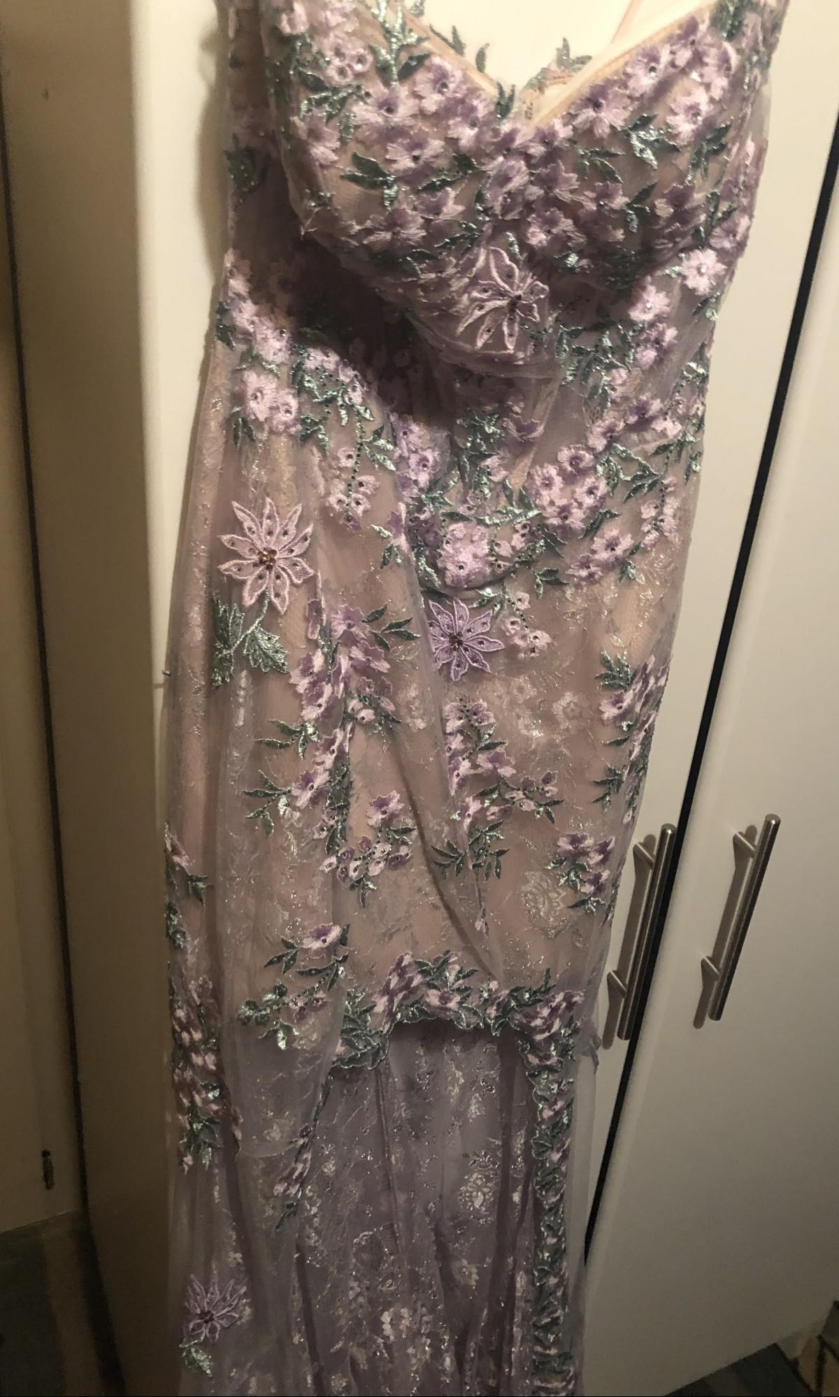 Purple Mermaid Dress by Cinderella Divine