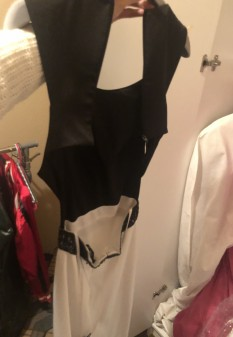 New Black and White Gown by Alyce