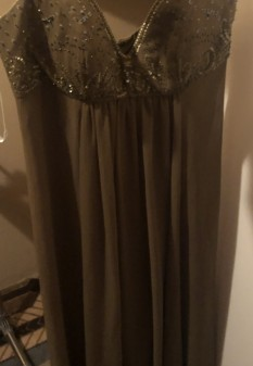 Green Gown by Davids Bridal