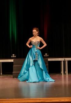 Aqua High-Low Dress by Blush Prom