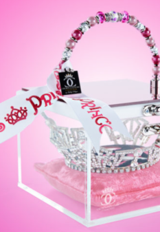 """Pretty In Pink"" Crown Purse"