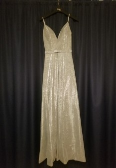 Silver Miss Pageant Dress by Jovani