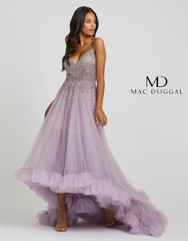 Orchid fun fashion Dress by Macduggal