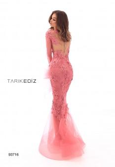 Dark Rose Couture dress by Tarik Ediz style 93716