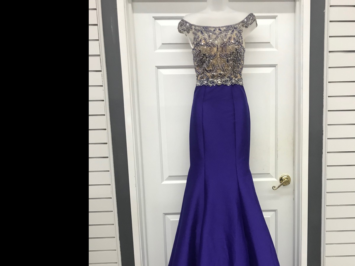 Pageant Gown by Mac Duggal- Available in 3 colors