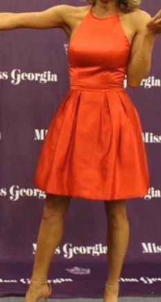 Red Cocktail Dress by Sherri Hill