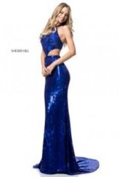 Sherri Hill sequin stretch gown 51663