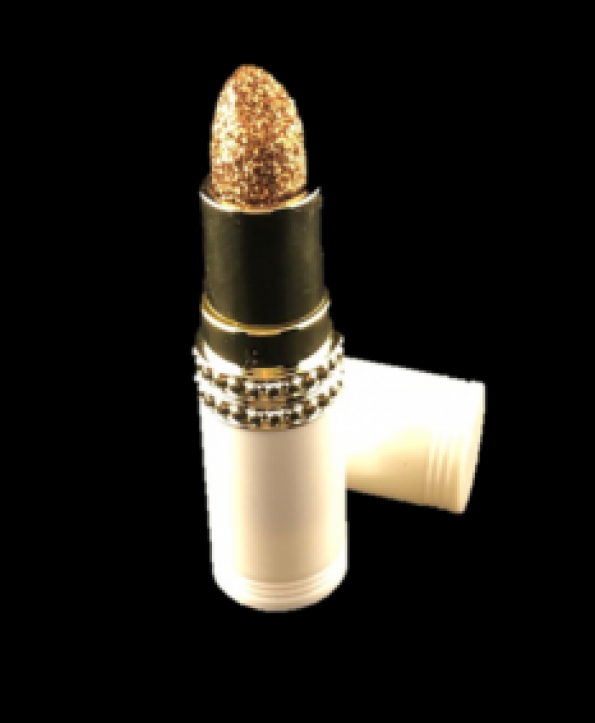 """GlowStix Long-Lasting Shimmer Lipstick """"21"""" and Topical Glitter SQUAD"""
