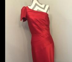 Red Antonio Melani Cocktail Dress