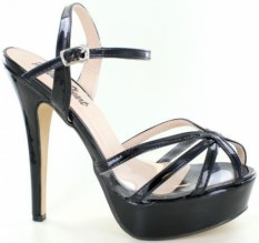 Helen's Heart Black Pageant Shoes | Pageant Heels